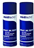 Visiodirect Lot de 2 Bombes de Froid à l'arnica 400ml en Spray pour Calmer la...