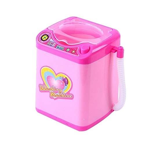 Hanks' Shop Kindermöbel Spielzeug Paulclub Mini Electric Waschmaschine Pretend Play Kindermöbel Spielzeug (Pink) (Color : Pink, Size : One Size)