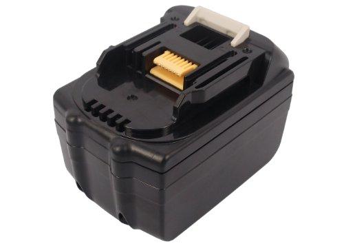 4500mAh Battery Replacement for Makita BJR181X1 BML186 XRH04Z XRF01Z BCL180Z BJR181RFE BDF450 TD144DRFX BTD145Z BHP458 XRU02Z 194205-3 BL1815 BL1850 194309-1 BL1830 LXT400 194204-5 BL1840 (18.0V)