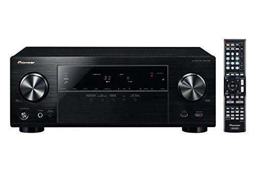 Pioneer VSX-529-K 5.2 Netzwerk AV Receiver (130 Watt pro Kanal, Airplay, App. Steuerung, Internetradio, DLNA, Spotify Connect, Gapless Wiedergabe) schwarz