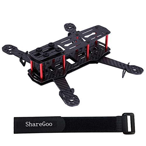 ShareGoo Carbon Fiber 250mm Mini FPV Racing Drone Frame kit,4-Axis Unassembled