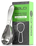 Balci - Stainless Steel Coffee Scoop (2 Tablespoon Scoop) Exact Measuring Spoon for Coffee, Tea, Sugar, Flour and More!