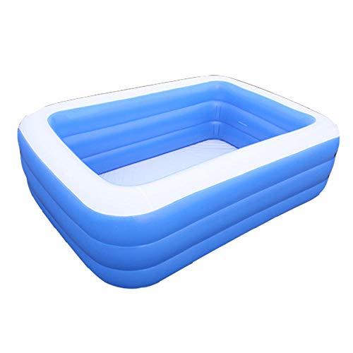 DAYUAN Piscina Infantil Hinchable Rectangular Redonda,Piscina Inflable, Piscina de baño engrosada-180cm-A,Piscina Familiar Swim Center Piscina para niños