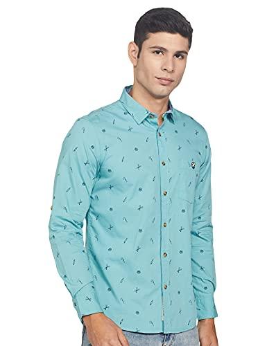Amazon Brand – House & Shields Men's Regular fit Shirt