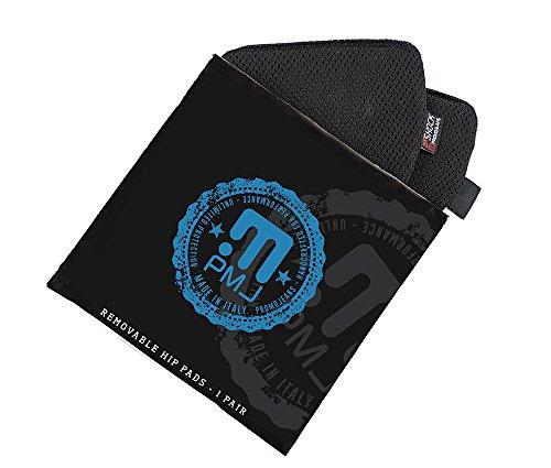 PMJ Zero-Shock heupbescherming, zwart, maat 1