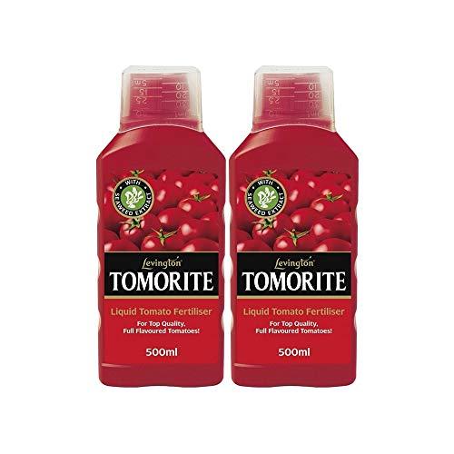 Fertiliser Levington Tomorite Seaweed Enriched Liquid Tomato 500ml (2...