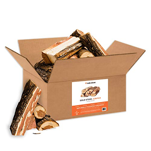 Solo Stove Firewood for Outdoor Fire Pits 100% Natural Juniper Aromatic Firewood