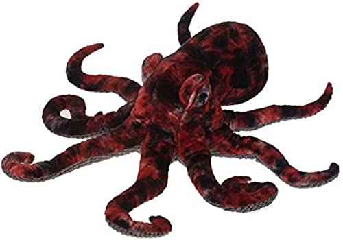 Giant rot Octopus Plush Stuffed Animal Toy by Fiesta Toys - 32 by Fiesta Toys