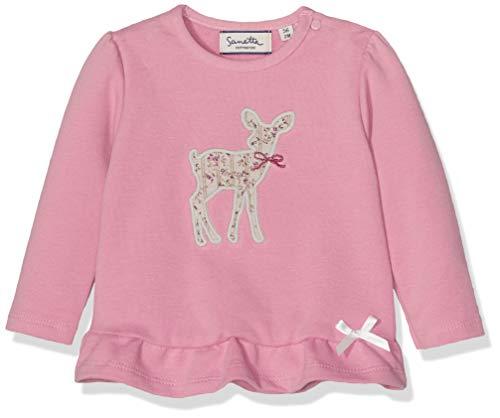 Sanetta Sanetta Baby-Mädchen Sweatshirt, Pink (Rose Shadow 3915.0), 86