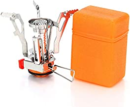 AOTU Ultralight Portable Wind-Resistance Camp Stove Adjustable Camping Stoves Backpacking Stove with Piezo Ignition for Outdoor Camping/Hiking/Mountaineering Cooking