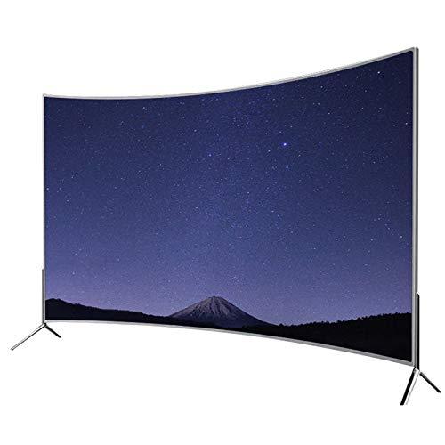 XFF 55in 75in 80in 85in 4K HD LED TV Curvo Inteligente en Red, Ajuste Dinámico de la Luz de Fondo, Protección Ocular Y Anti-luz Azul, Televisión Android