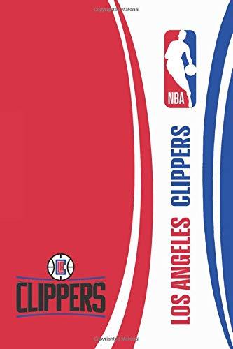 "LA Clippers: LA Clippers Notebook & Journal - NBA Fan Essential - LA Clippers Fan Appreciation - 120 pages | Size: 6"" x 9"""