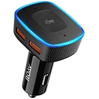 Anker Roav VIVA Alexa-Enabled 2-Port USB Car Charger for In-Car Navigation, Hands-Free Calling and Music Streaming (Black)