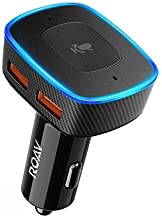 Roav Viva by Anker, Alexa-Enabled 2-Port USB Car Charger in-Car Navigation, Compatible with Android and iOS Smart Devices