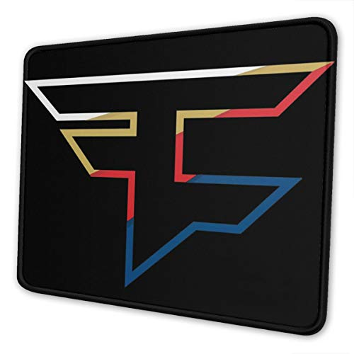 Colored Faze Clan Mouse Pad Gaming Mat Keyboard Pad Mouse Pad Waterproof Non-Slip Personalized Mouse Pad for Laptop,Computer,PC for Woman Man
