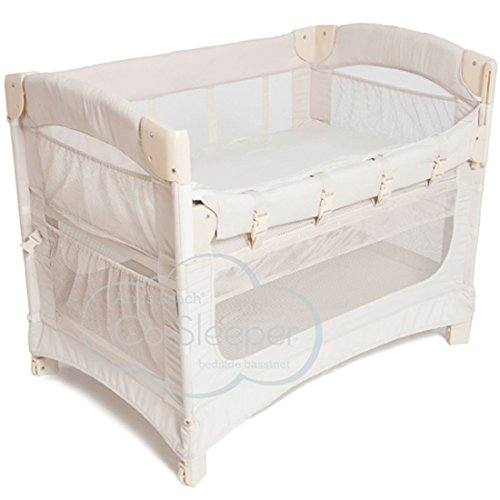 Arm's Reach Concepts Ideal Ezee 3-in-1 Bedside Bassinet - Natural