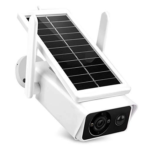 Tomanbery Monitor de Video Cámara de Seguimiento automática Seguridad Impermeable Noche al Aire Libre Bajo Consumo para reconocimiento de Campo