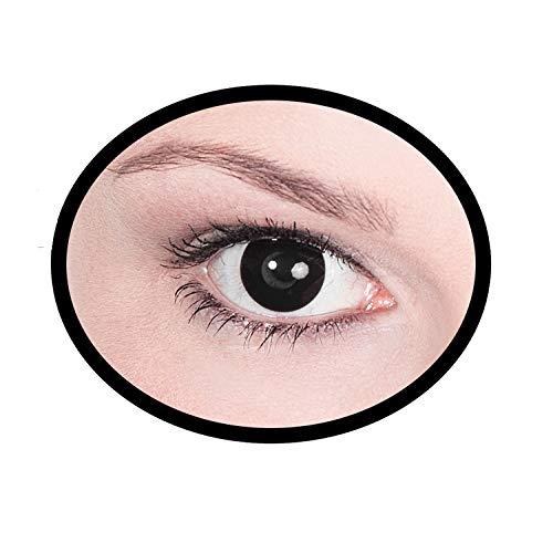 Maskworld SMI416099(2) Kontaktlinsen/Tageslinsen, Unisex– Erwachsene, schwarz