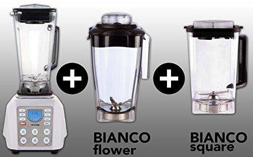 BIANCO forte (Weiß / White) + BIANCO flower + BIANCO square + Buch