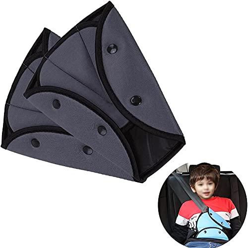 CARMAE 2 Stück Sicherheitsgurt-Einsteller Pads Sicherheitsgurt-Abdeckungen Auto-Sicherheitsgurt-Schulterpolster für Erwachsene Kinder Sommer Frauen Sicherheitsgurt Schulterpolster