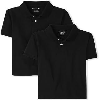 The Children's Place boys Uniform Pique Polo 2-Pack Shirt