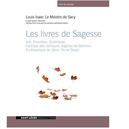 Les livres de Sagesse audiobook cover art