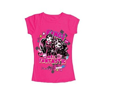 Monster High T-Shirt Draculaura und Clawdeen Wolf (152, pink)