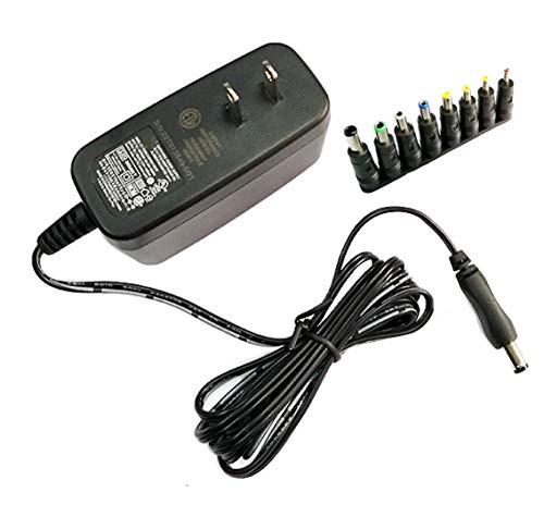 サンクスワールド 12V2A 汎用 ACアダプター スイッチング方式安定化電源 プラグ外径5.5mm(内径2.1mm)+ 8種DCプラグアダプター