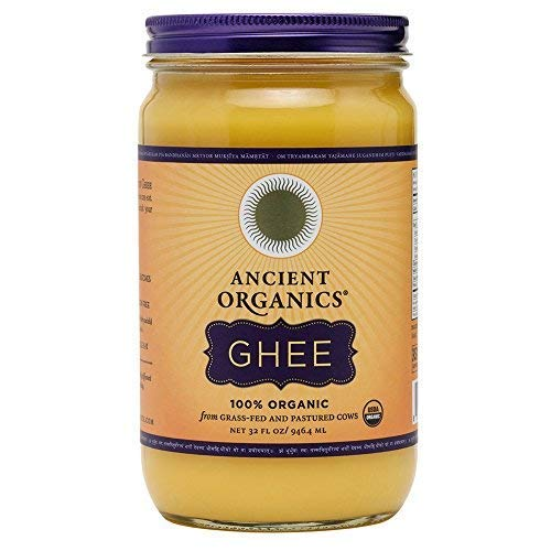Ancient Organics Organic Ghee from Grass Fed Cows