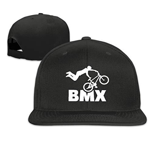 Not Available Bicycle Ride BMX - Gorra de béisbol Ajustable para Hombre y Mujer, Color Negro