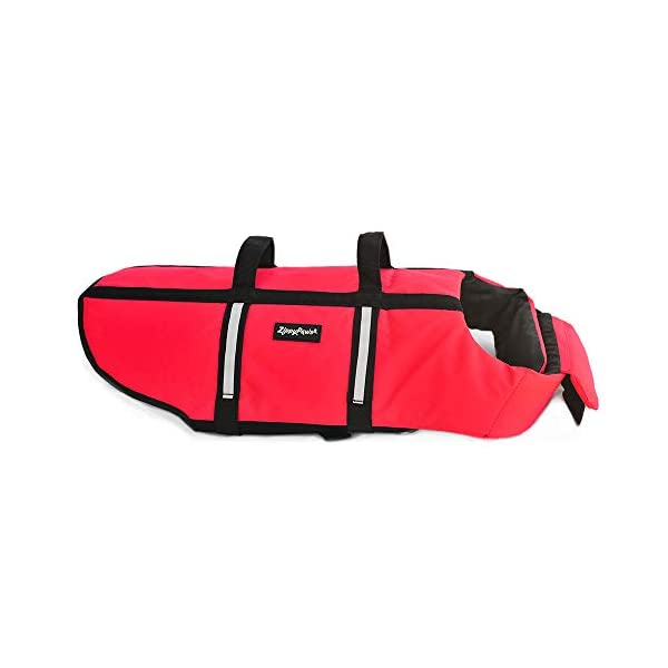 Zippy Paws Life Jacket Dog, Red, Small Click on image for further info. 9
