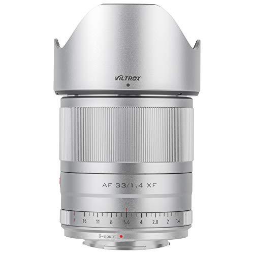 VILTROX Objetivo AF de 33 mm f1.4 para cámaras Fuji X Mount...