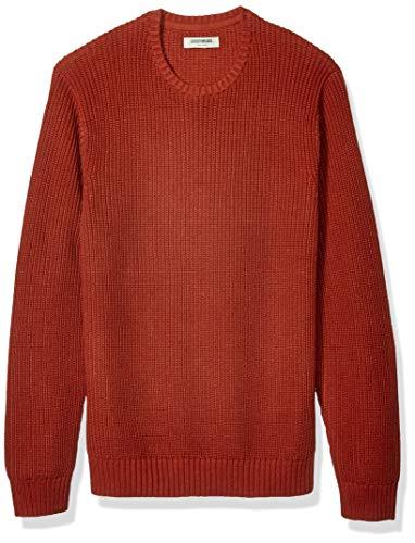 Ribbed Crewneck Sweaters Mens