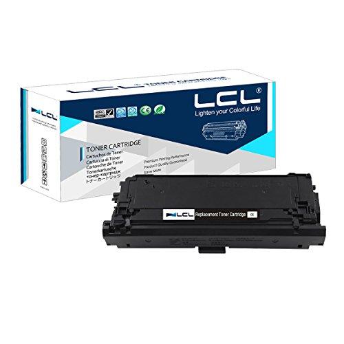 LCL Remanufactured Tonerkartusche 508A CF360A 6000 Seiten (1 Schwarz) Ersatz für HP Laserjet M552dn M553dn M553n M553x