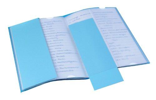Veloflex 1359090 - Vokabeltrainer EP 1525999, DIN A5, aus PVC, erleichtert das Lernen, transparent, 1 Stück