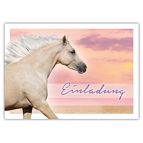 10 paardenuitnodigingen voor verjaardag