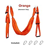 Kenyaw Anti-Gravity Yoga Hammock Swing Parachute Fabric Inversion Therapy Yoga Gym Hanging High Strength Decompression Hammock