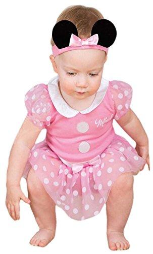 Minnie Maus Baby-Kostüm, Pink, 9–12Monate