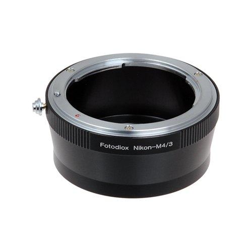 Fotodiox Nikon Lente Anillo Adaptador de cámara Profesional MFT Micro 4/3 Cuatro Tercios