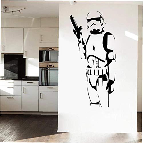 Angoter 2019 Décor Mode Produit Cool Star Wars Enfants Aime Stormtrooper Art Wall Sticker Vinyl Stickers Décor Garçons Chambre Murale