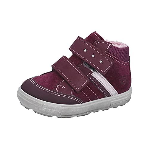RICOSTA Mädchen Boots Alexis von Pepino, Weite: Mittel (WMS),Sympatex,Winterboots,Outdoor-Kinderschuhe,Kids,Merlot (384),27 EU / 9 Child UK