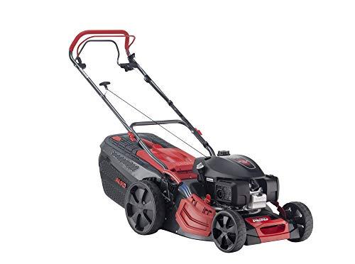 AL-KO Benzin-Rasenmäher Premium 470 SP-H (46 cm Schnittbreite, Motor mit 2.7 kW Motorleistung, robustes Stahlblechgehäuse, Hinterradantrieb, Mulchfunktion, Seitenauswurf, für Rasenflächen bis 1400 m²)