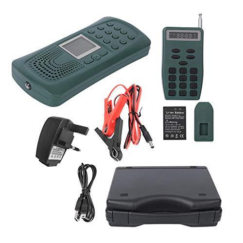 TANKE CP387 portátil eléctrico pájaro sonido amplificador reproductor MP3 voz altavoz con función linterna enchufe