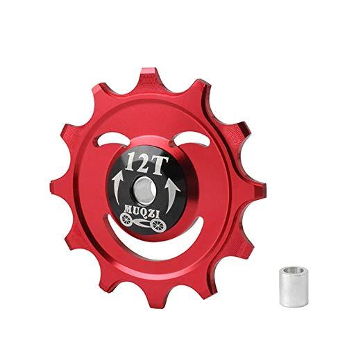 YU-NIYUT 12/14T Sealed Bearing Jockey Wheel Rear Derailleur Pulley Aluminum Positive Rear Bike Derailleur Accessories for Mountain Bike Road Bike