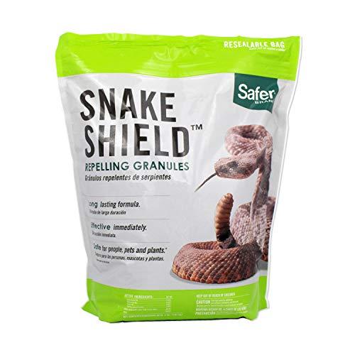 Safer Brand 5951 Snake Shield Snake Repellent Granular – 4 LB