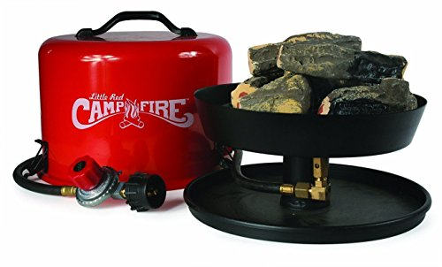"Camco 58031 ""Little Red Campfire"" Portable Propane Camp Fire --P#EWT43 65234R3FA66413"