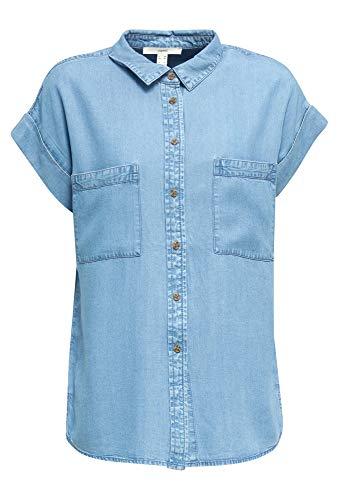ESPRIT Aus Tencel™: Bluse mit Taschen