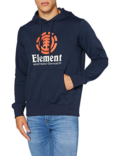 Element Vertical - Sudadera con Capucha para Hombre Sudadera con Capucha, Hombre, Eclipse Navy, XS