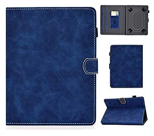 Accesorios De Pestañas para Huawei MediaPad T1 T2 T3 T5 M1 M2 M3 M5 Lite 10.1 M6 10.8, Cubierta Universal De La Tableta para VOVO Q101 4G / I8 10.1 Pulgadas 10.1' (Color : Blue)