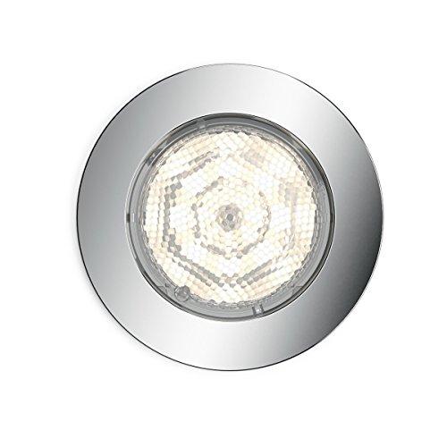 Philips myBathroom dreaminess Spot LED encastrable rond (Comprend 1 x 4,5 W LED, de Salle de Bain Sans danger)